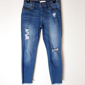 Eunina Kitty Low Rise skinny cropped Jean's